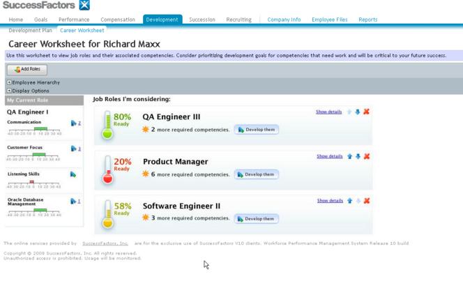Successfactors Talent Suite And Core Hr With Sap