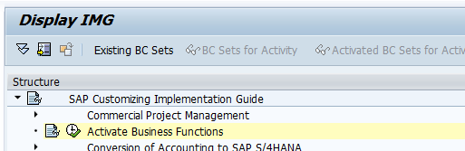 SAP S/4HANA: Always-On Business Functions | 2BM